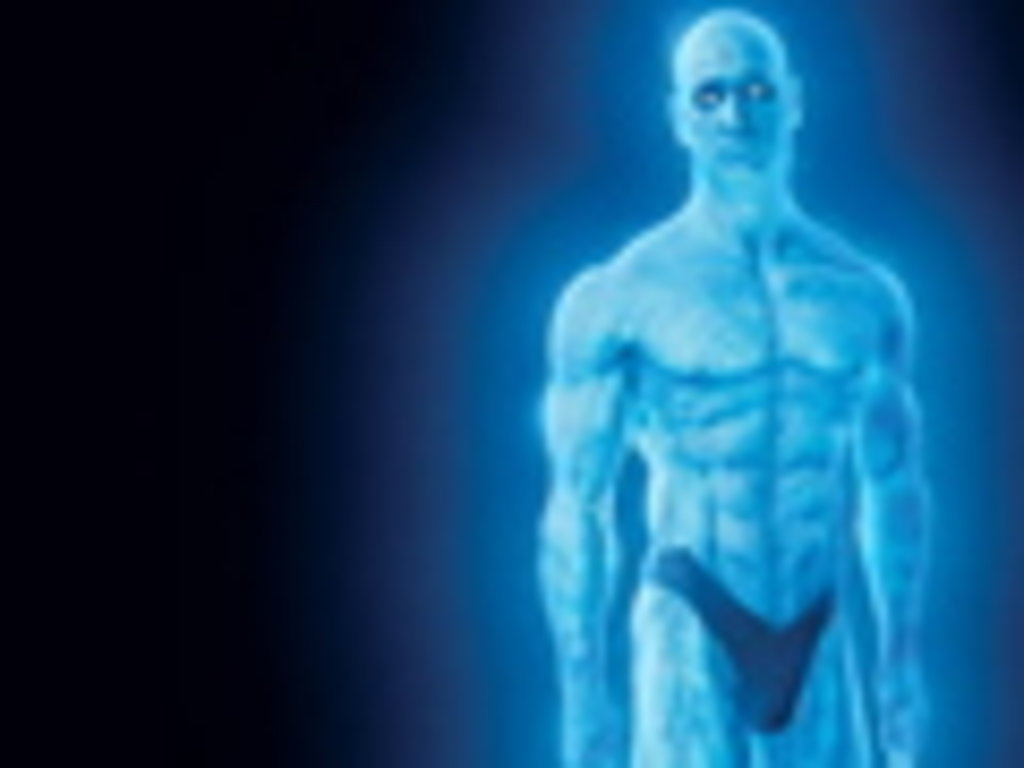 The Watchmen Blue Guy