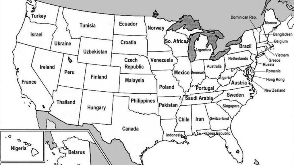 US States Renamed For Countries With Similar GDPs Big Think - Usa map countries