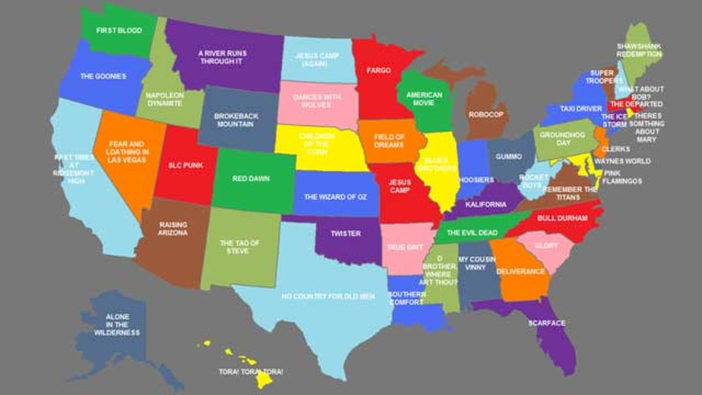 A Map Of State Movies Big Think - United states state maps