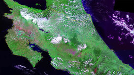 Satellite-image-of-costa-rica