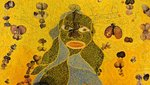 Ofili_virgin_mary_detail