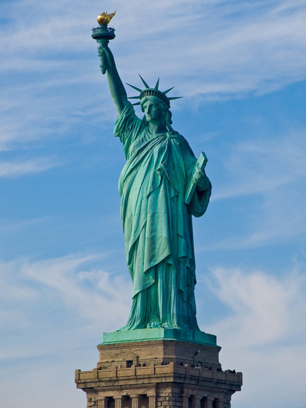 Rick Perry And The Satanic Statue Of Liberty Big Think - Where is the statue of liberty located