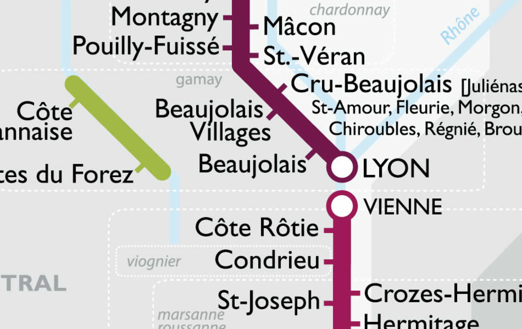 Next Stop Beaujolais A Metro Map Of French Wines Big Think - French metro map