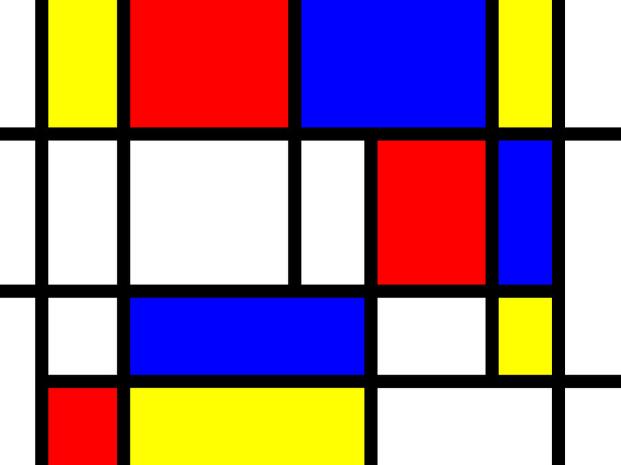 Your Brain Looks Like a Mondrian Grid Painting | Big Think