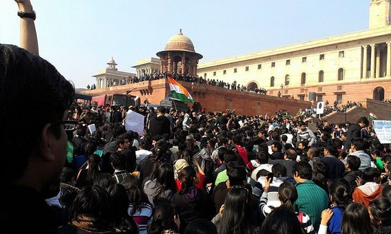 Delhi_protests-students__raisina_hill
