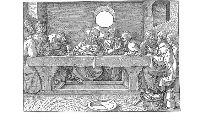 Durer_-_the_last_supper._1523._woodcut._graphische_sammlung_albertina__vienna__austria