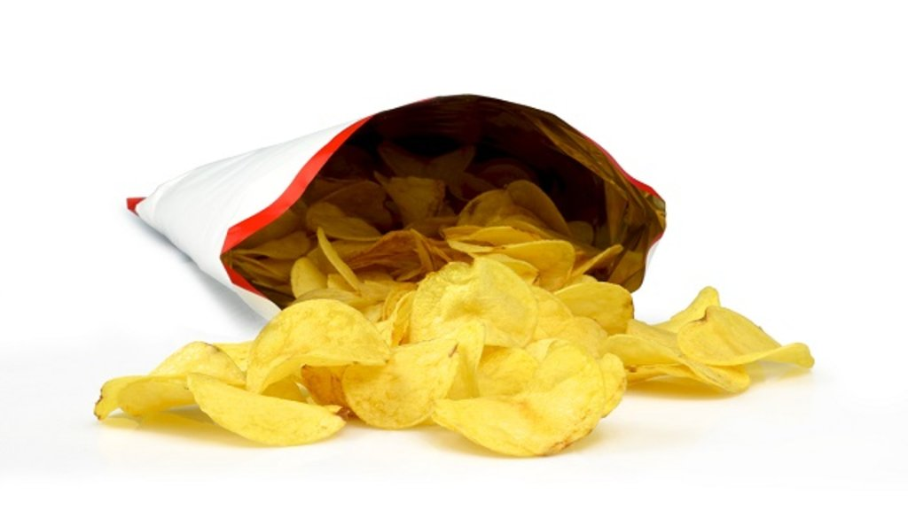 Image result for can't just have one potato chip