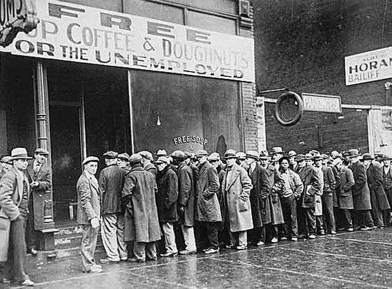 Depression-era-unemployment-line