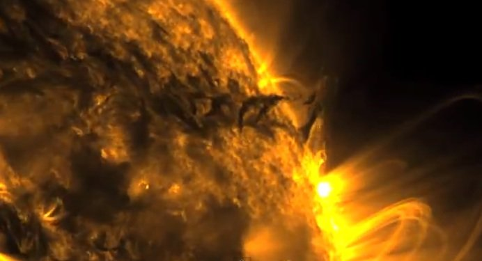 sun tornado captured by nasa - photo #17