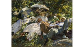 Sargent-met-impressionism-group_with_parasols_(siesta)