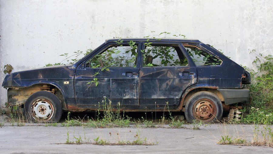 Car_in_the_weeds