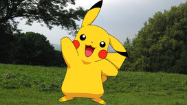 Pikachu-on-hill
