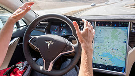 Tesla_driver_no_hands