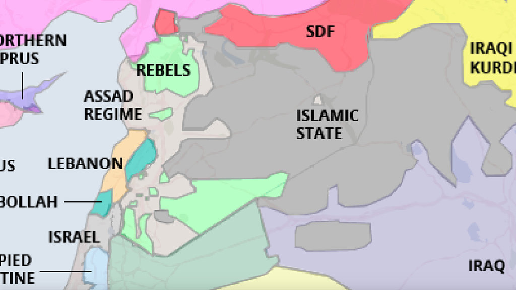 A real map of the middle east big think could this map be any more different from the previous one discussed on this blog that one dealt with the water wetlands and shifting shorelines of gumiabroncs Images
