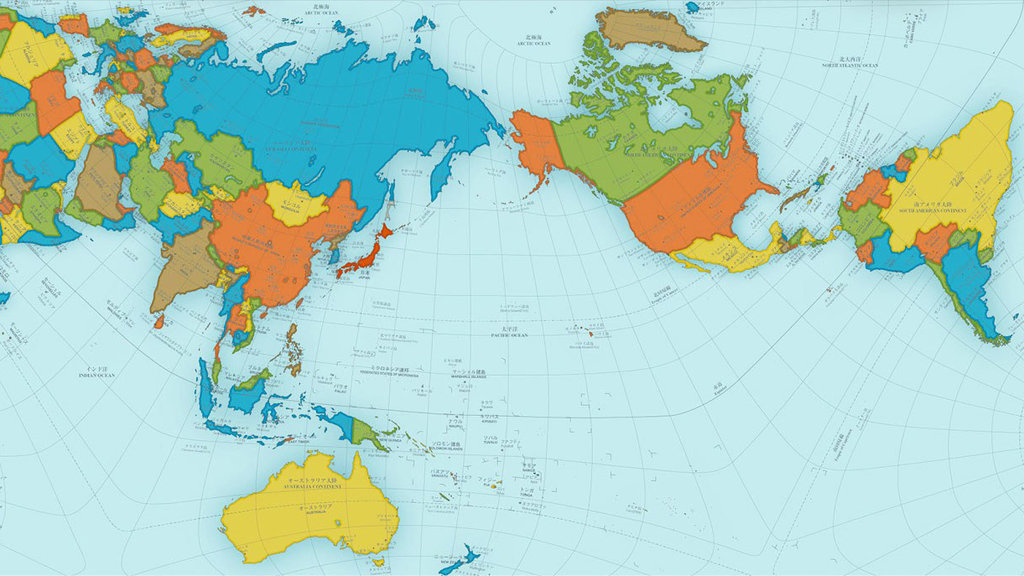 Award winning map shows a more accurate world big think the authagraph world map sciox Images