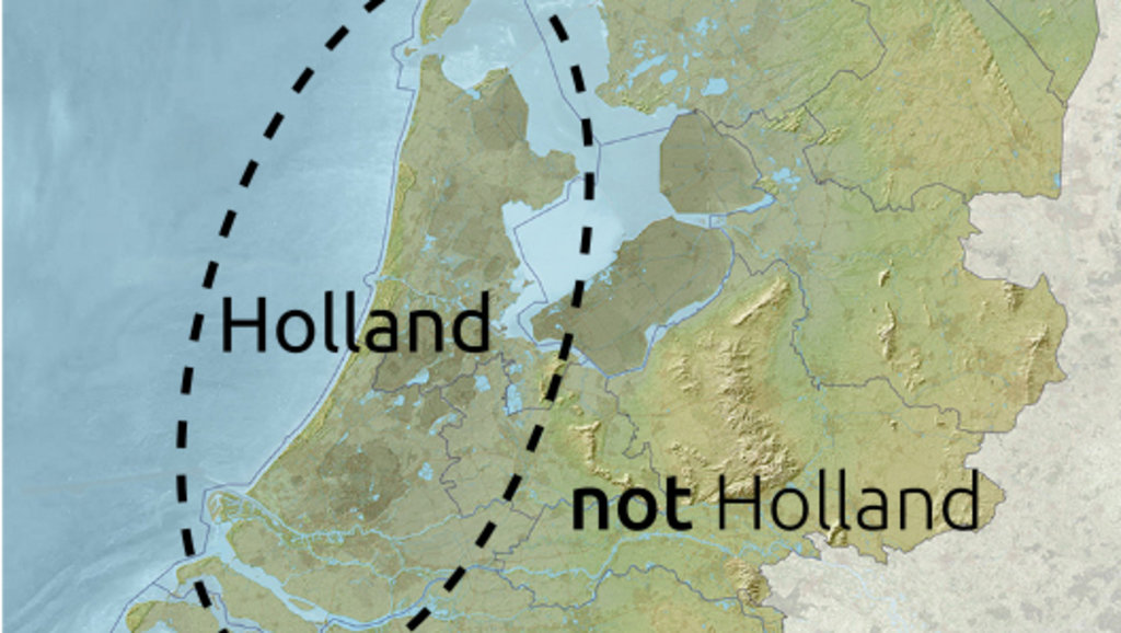 Are Holland and the Netherlands the Same Country – Map of Germany and Holland Together