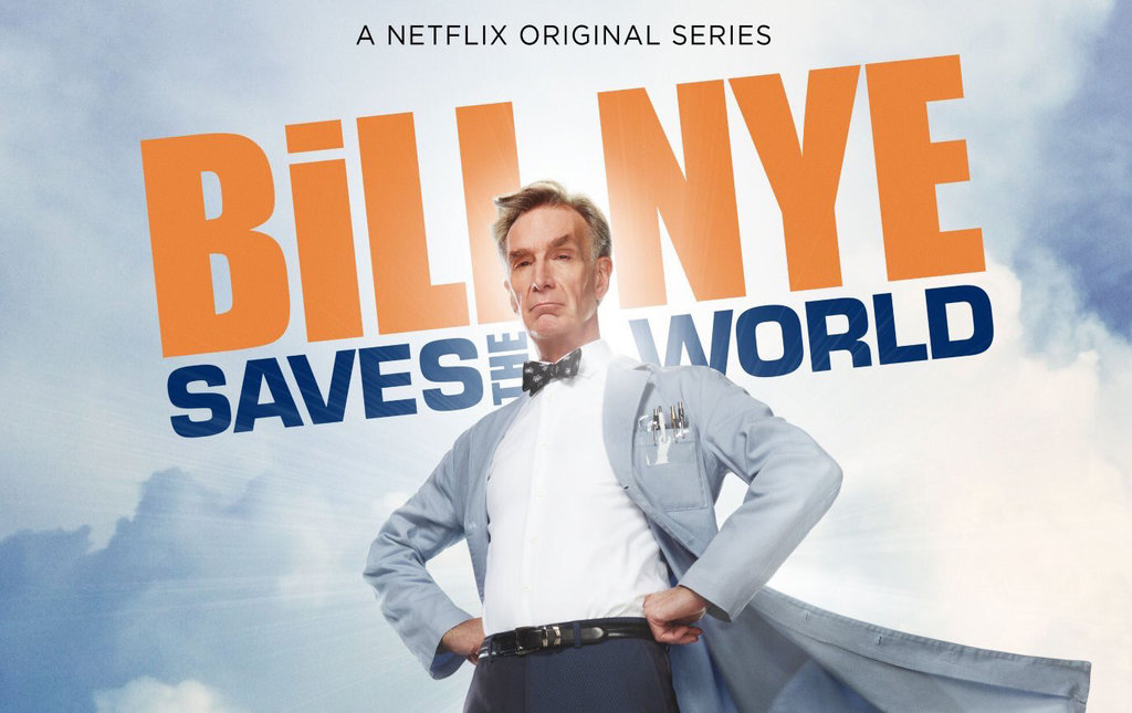 Image result for bill nye saves the world logo