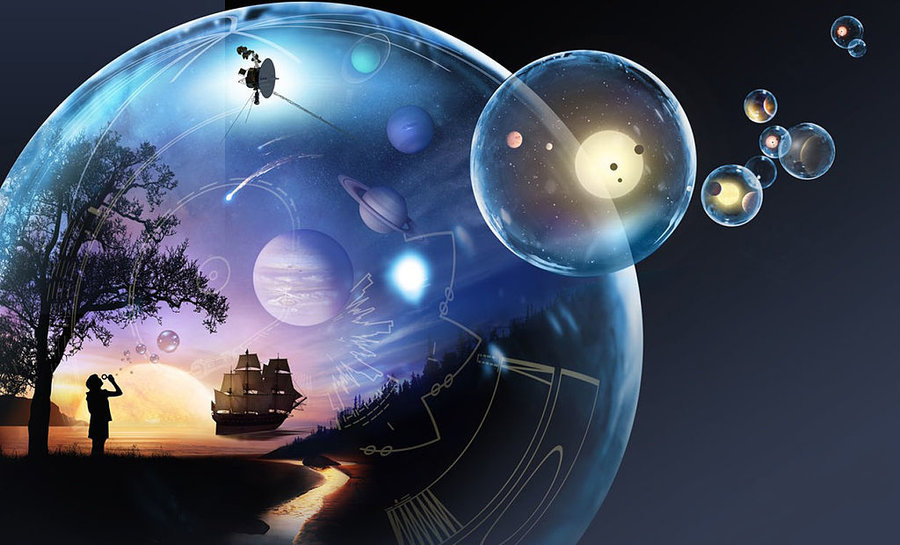 Physicists outline 10 different dimensions and how you'd experience them