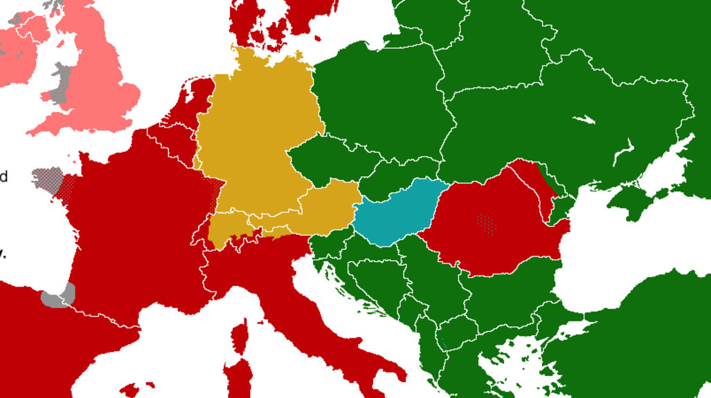 How Long To Learn That Language Heres A Map For That Big Think - World map russian language
