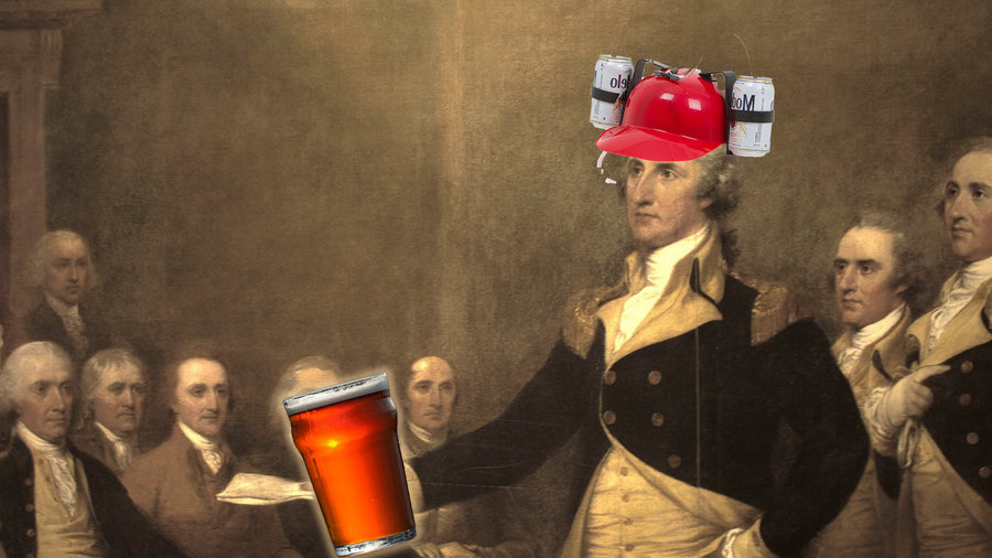 How drunk were the Founding Fathers?
