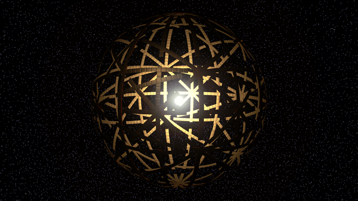 artist conception of a dyson sphere