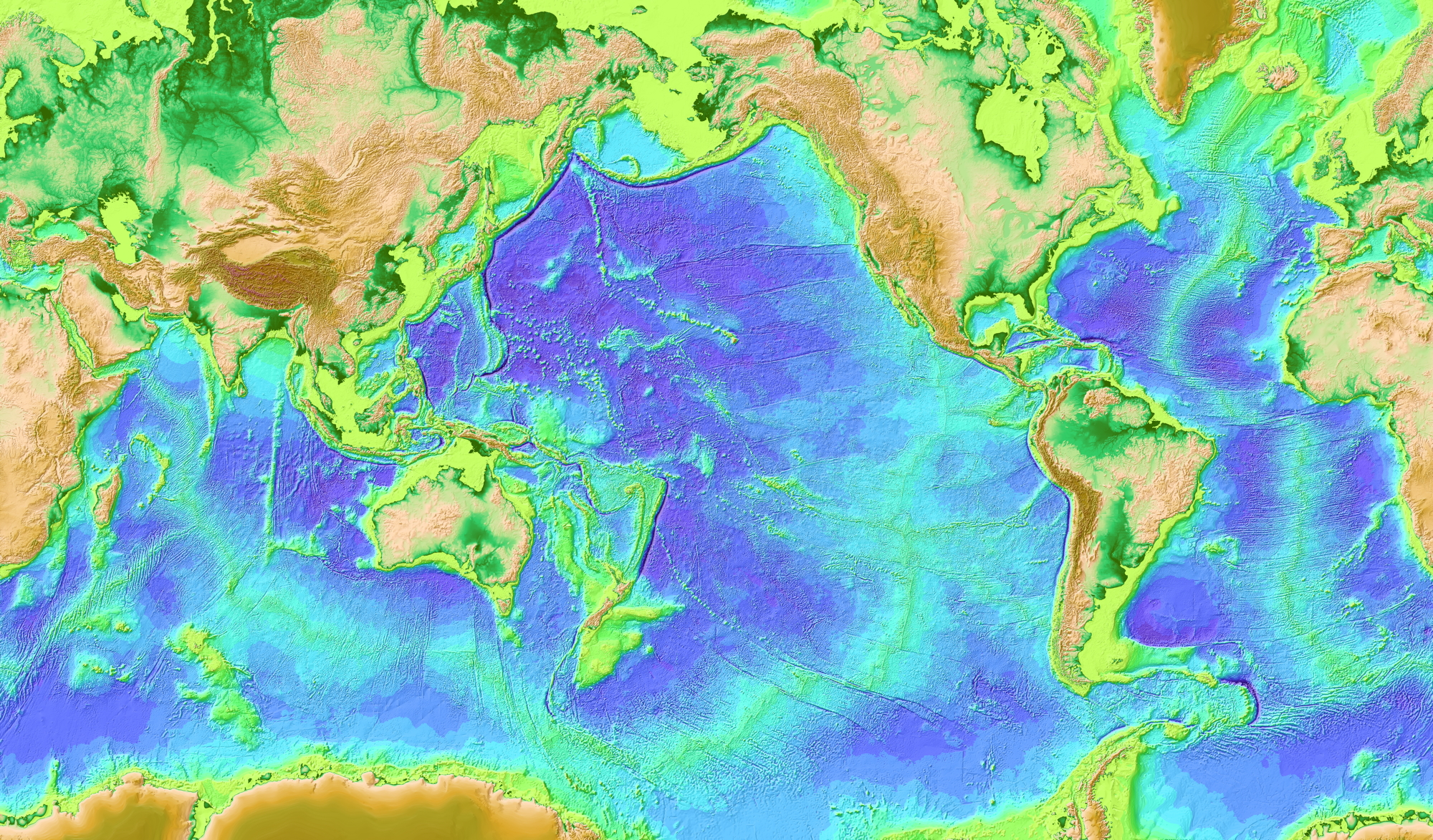 global sea floor