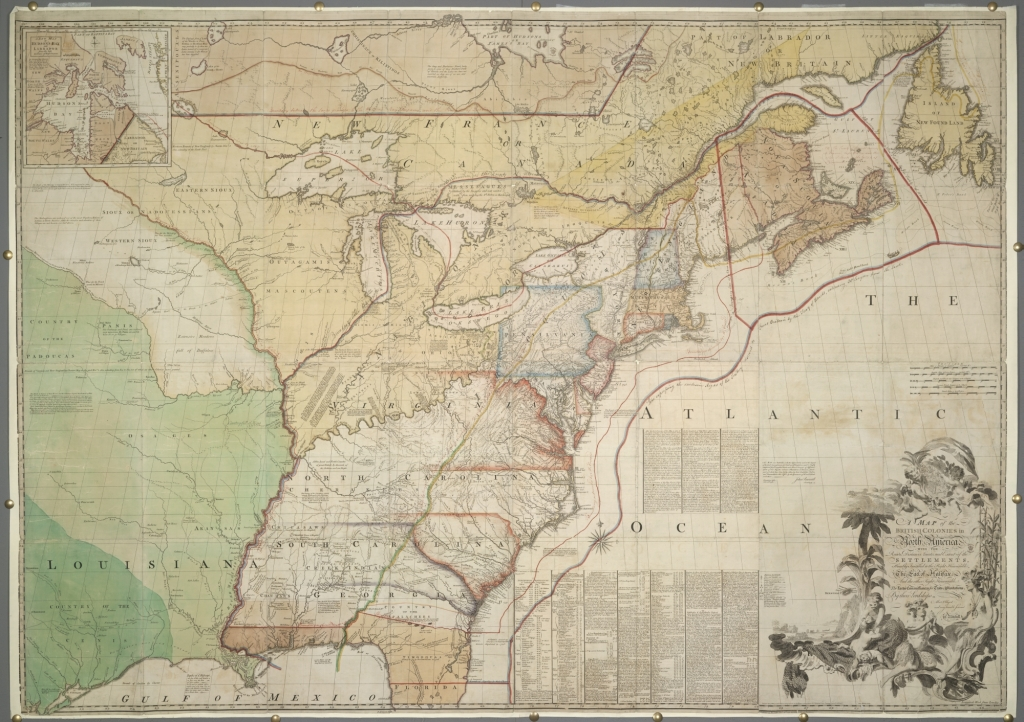 Secret Map Shows Brits Considered Giving Lower Canada to US in