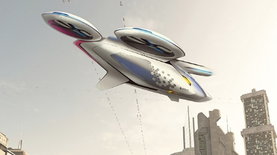 Artist rendition of CityAirbus