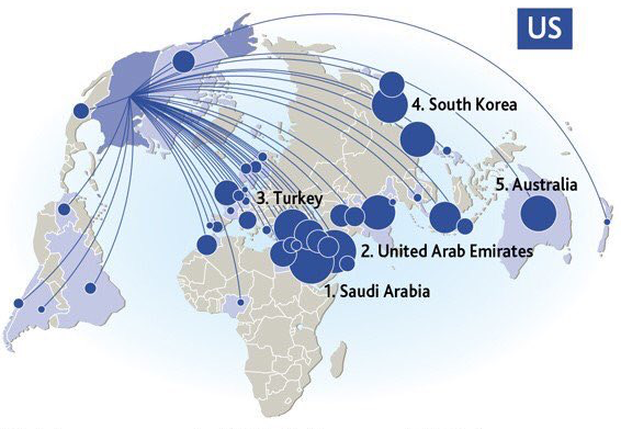 Mapping the World's Biggest Weapons Exporters – and their ...