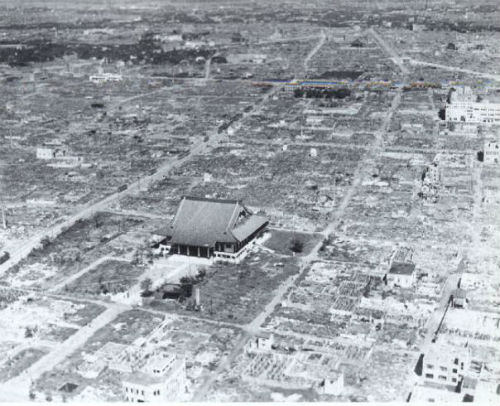 Tokyo after the March 1945 firebombing
