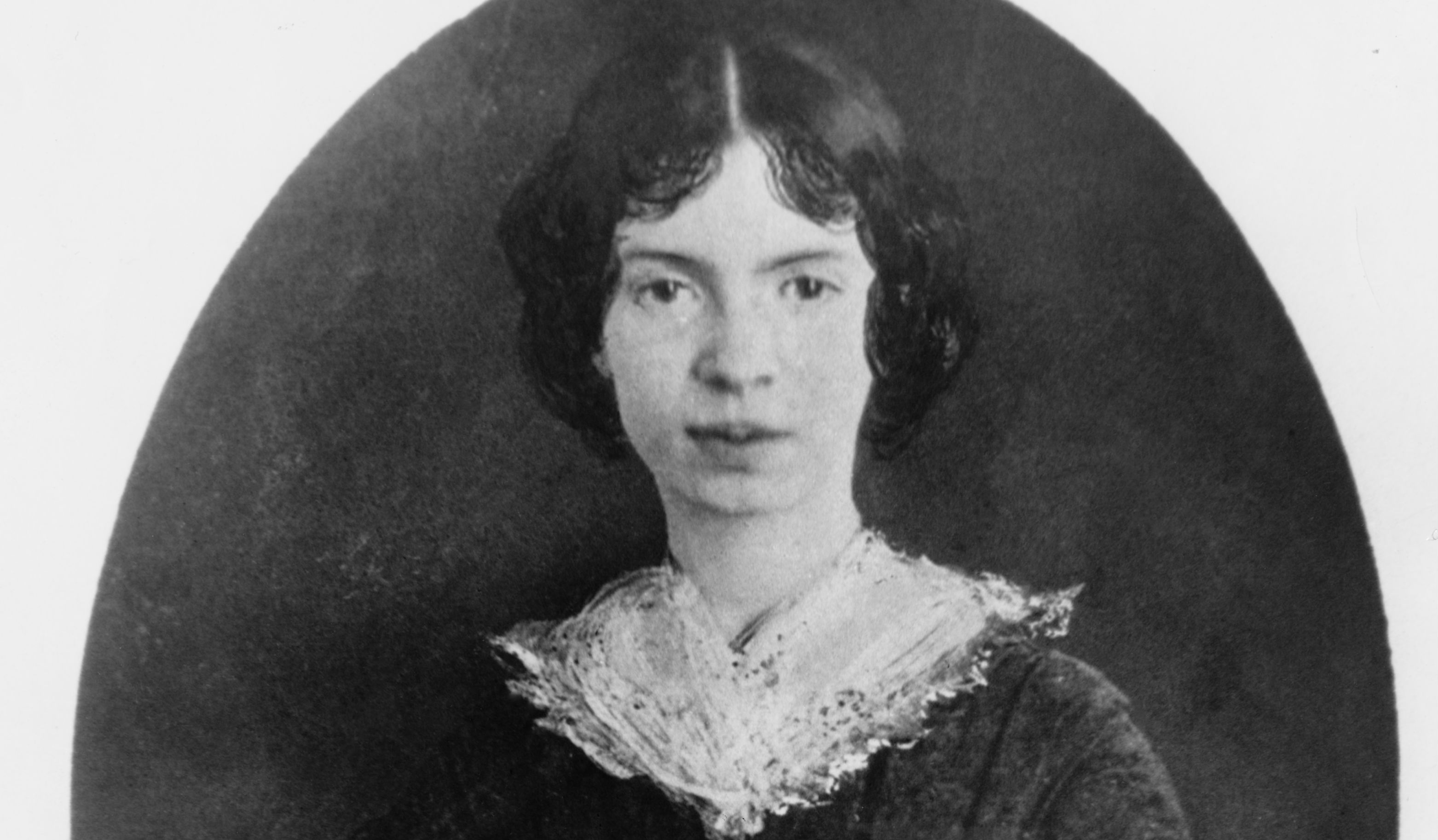Dickinson as a young woman