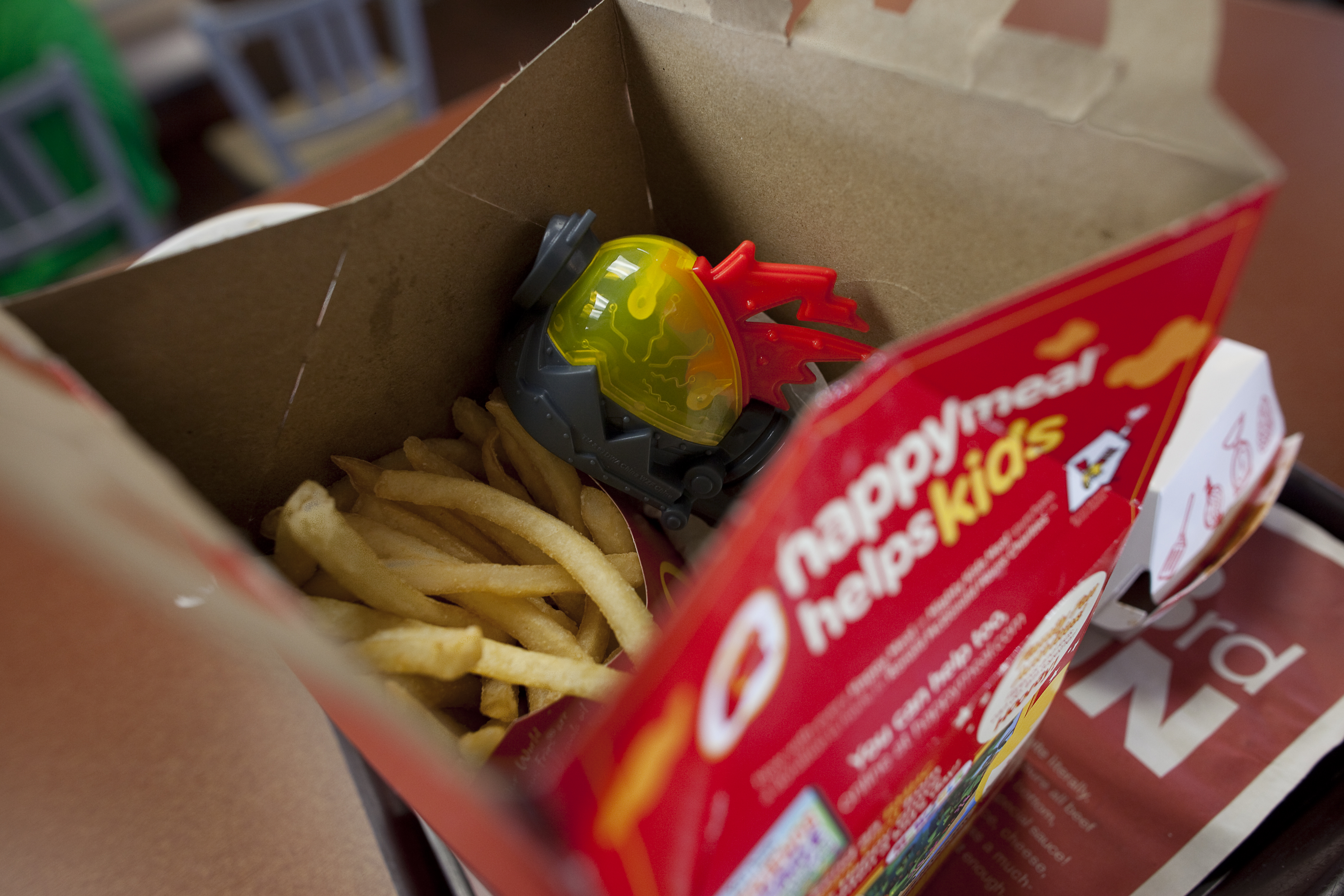 McDonald's Cuts Cheeseburgers From Happy Meals