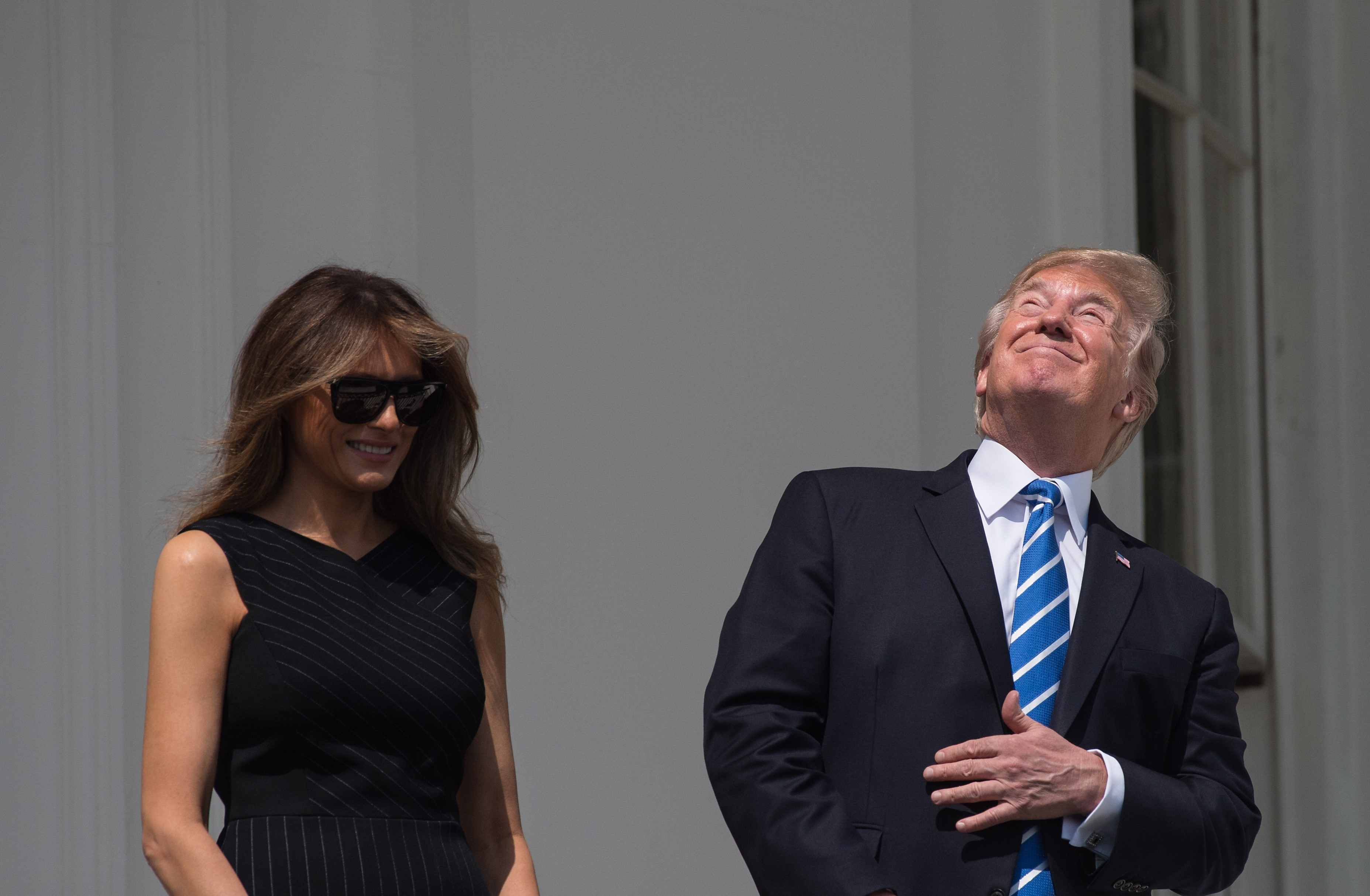 #45 staring directly at the sun