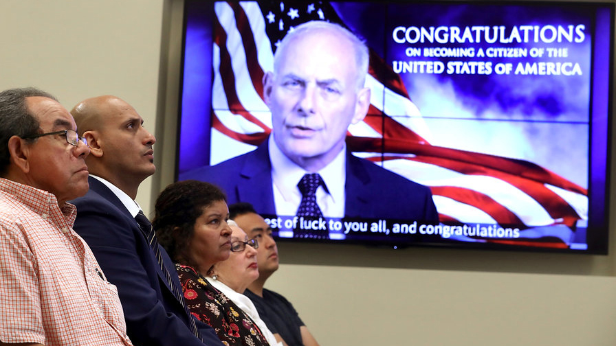 American new citizens immigration