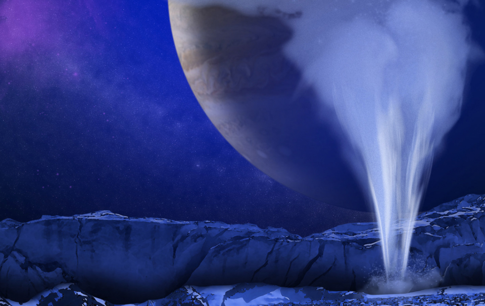 Jupiter's Moon Europa Shoots Water Into Space, New Research Suggests