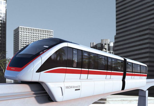 Bombardier monorail